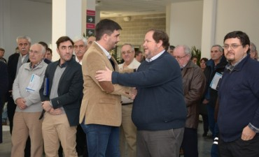 Encuentro Minero: Galli encabezó el acto de apertura