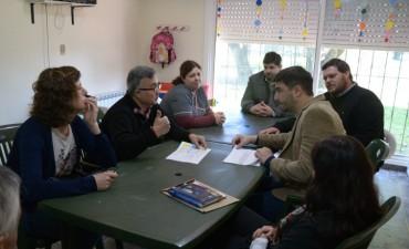 """Galli visitó el Centro de Día y Hogar """"Ilusiones"""""""