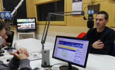 González Hueso con la vivienda al frente de su campaña