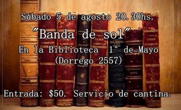 La Banda de Sol en la BIBLIOTECA 1° DE MAYO