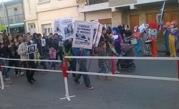 Marcharon por Anahí Benítez en Olavarría