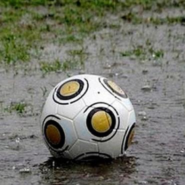 No hay fútbol por la lluvia