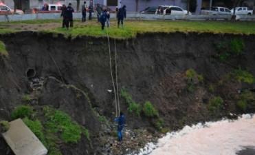 Tragedia de Querandies: Encontraron un novillo bajo el puente de calle Hornos
