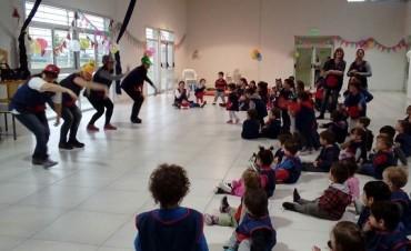 Los Jardines Maternales festejaron el Día del Niño