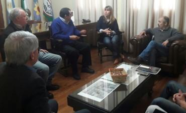 La delegación minera de Olavarría estuvo en Benito Juárez