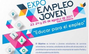 Expo Empleo Joven: se desarrollará la semana próxima en el Salón Rivadavia