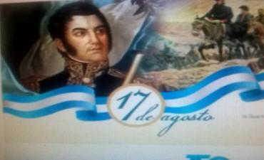 Se conmemoran 167 años del fallecimiento del Gral. San Martín
