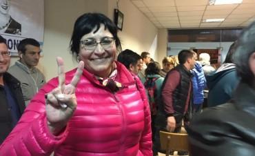 Marisel Cides con una asesoría en La Plata