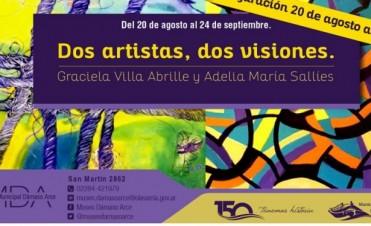 """""""Dos artistas, dos visiones"""" inaugura en el MDA"""