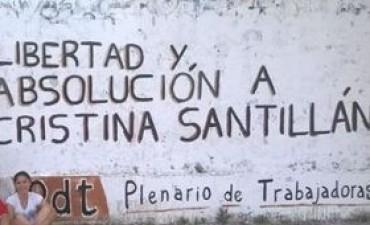 Libertad y absolución a Cristina Santillán