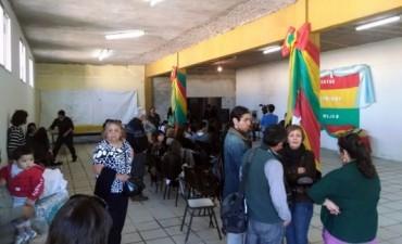 Fiesta por el aniversario de la independencia de Bolivia