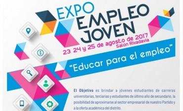 El miércoles comienza la Expo Empleo Joven