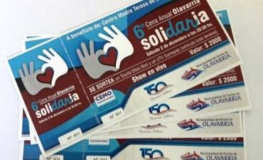 Cena Anual Solidaria 2017: continúa la venta de tarjetas