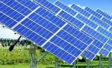 Instalación de equipo de energía solar