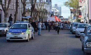 En Olavarría pidieron por la libertad de Santiago Seillant,detenido en Jujuy