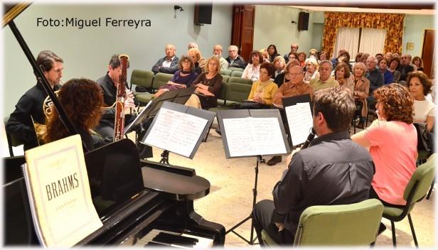 Concierto del Quinteto Municipal Vientos de Olavarría en Tres Arroyos