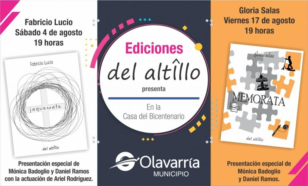 Con 'Jaquemate' se presenta Ediciones Del Altillo