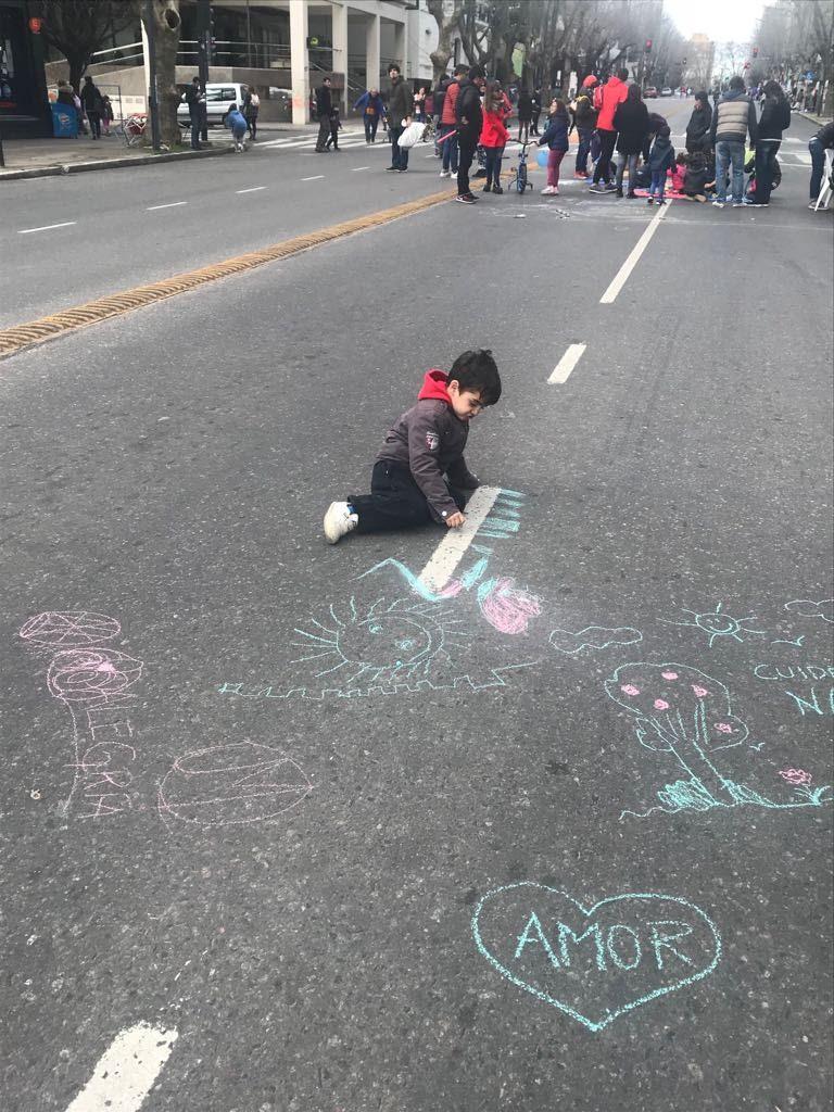 En La Plata realizaron el 'Corredor de la Infancia' en el día del niño
