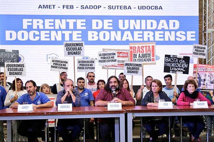 El Frente de Docentes denuncia al Estado ante la Organización Internacional del Trabajo
