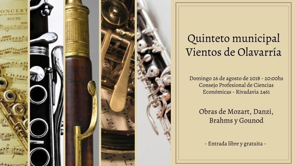 Concierto del Quinteto Municipal
