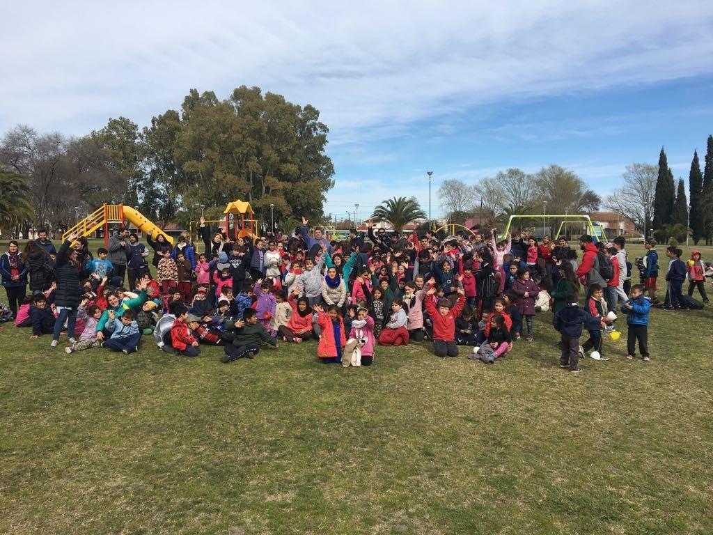 Los Centros de Día festejaron el Día del Niño