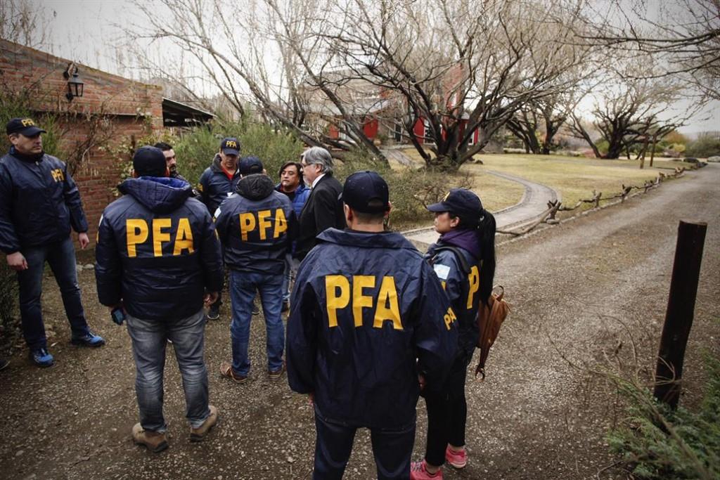 Allanamiento a la casa de Cristina Kirchner en El Calafate