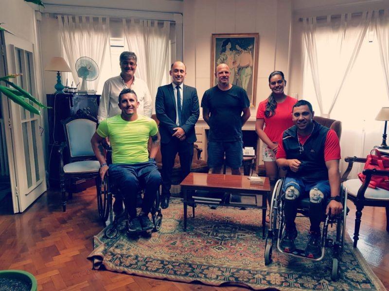 Paracanotaje: el equipo argentino en la Embajada en Portugal