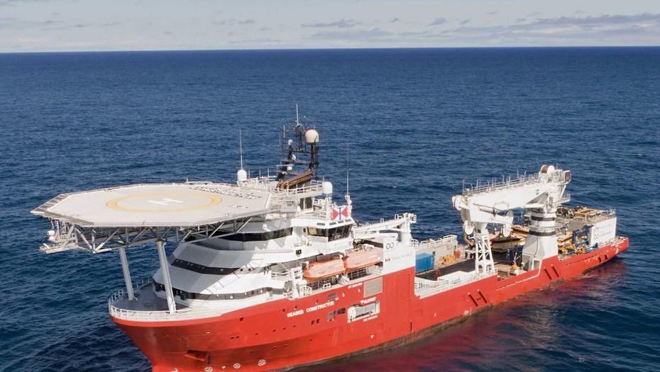 Ya navega hacia la Argentina el Seabed Constructor, el poderoso barco que buscará al ARA San Juan