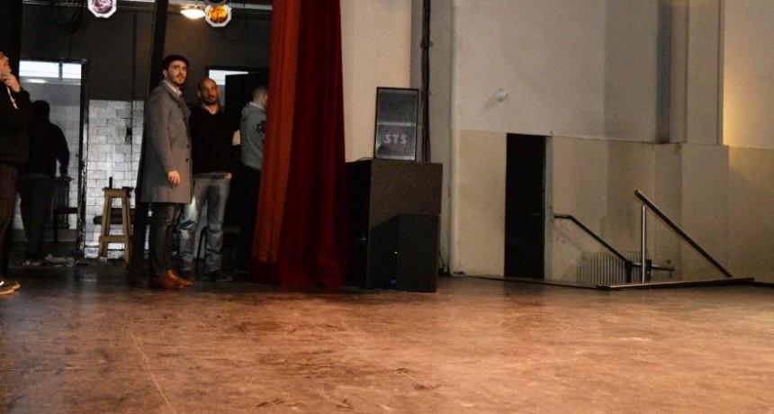 Automatización del telón en el Teatro Municipal