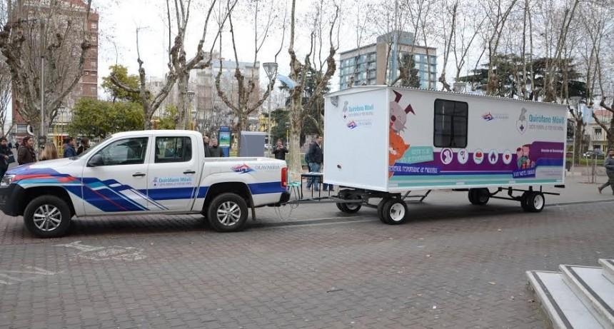 El Quirófano Veterinario Móvil llegará a más barrios