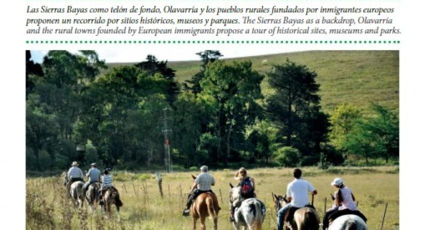 El turismo olavarriense en la revista internacional de líneas aéreas Amaszonas