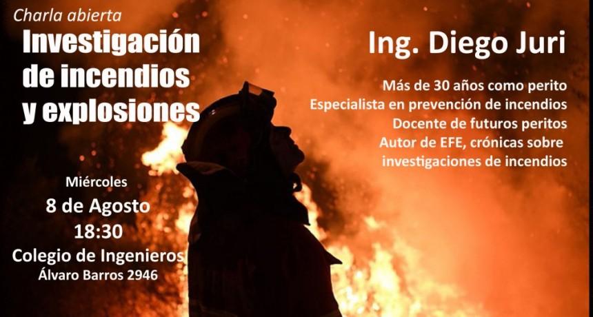 Un perito de incendios presenta su libro de crónicas sobre el fuego menos deseado