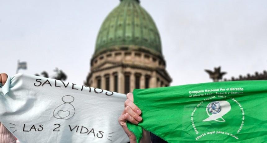 Olavarría se manifiesta a favor y en contra de la Ley de Interrupción Voluntaria del Embarazo