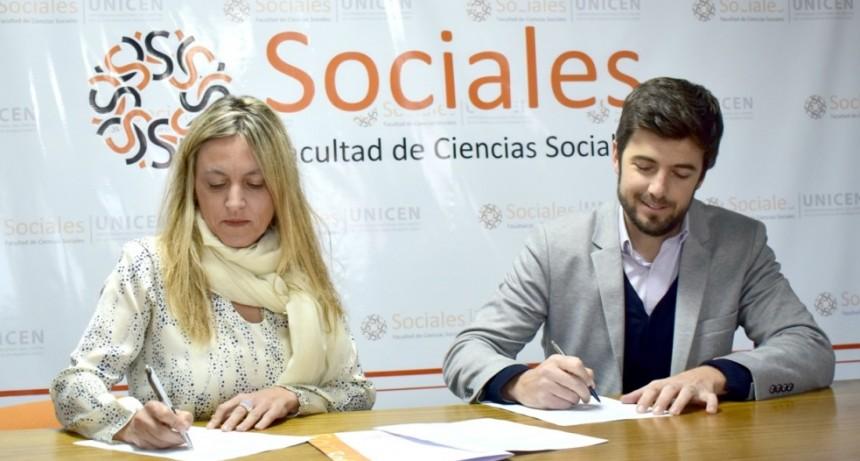Se firmó un convenio de colaboración entre el HCD y la Facultad de Ciencias Sociales