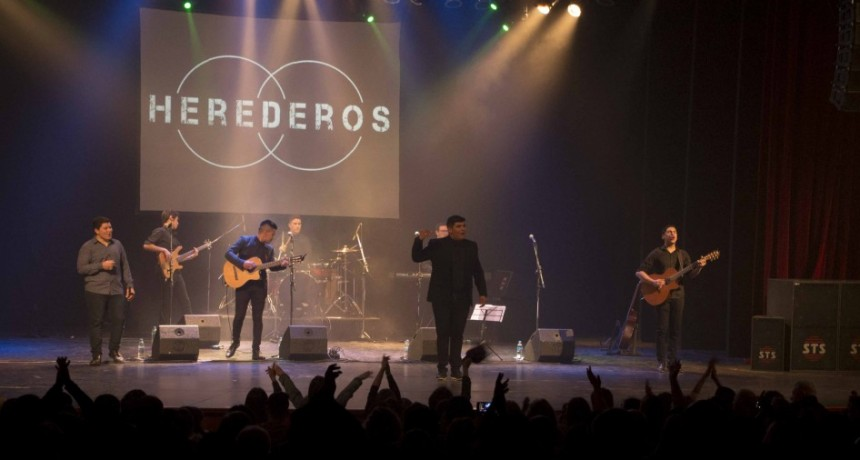 La fuerza de Herederos brilló en el Teatro Municipal