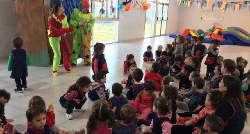 Los Jardines Maternales tuvieron su festejo del Día del Niño