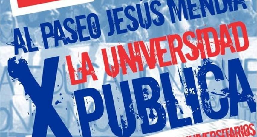 Universidad: nueva semana de parate de toda la comunidad