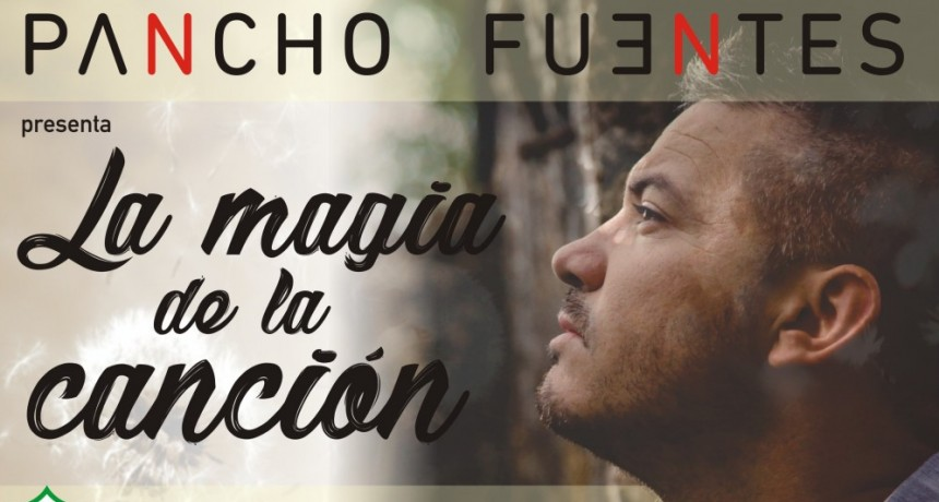 Pancho Fuentes vuelve a los escenarios a presentar