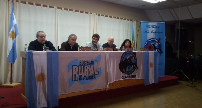 Conferencia de prensa del Festival de Doma y Folklore