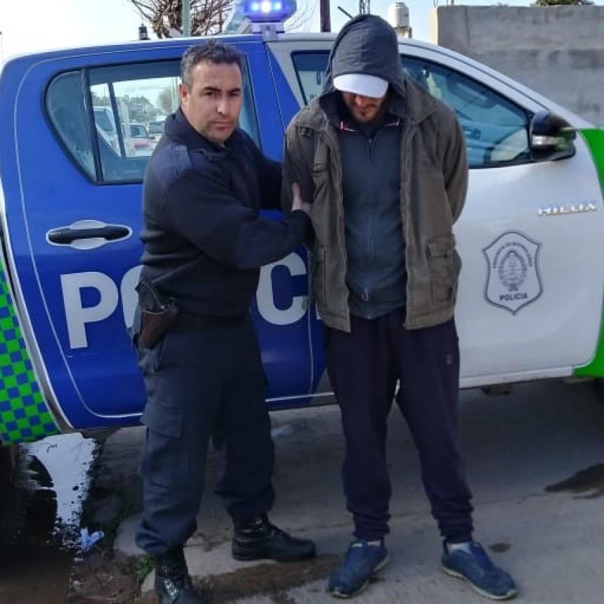 La Policía logro detener a un individuo que robo a remisero