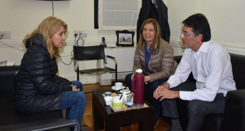 Lordén y Centeno se reunieron con el Presidente de la Comisión de Salud de la Legislatura Porteña
