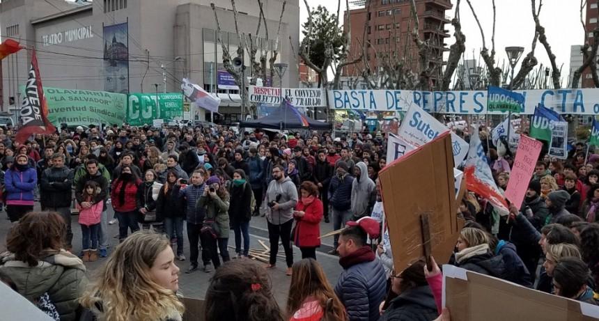 Educación Pública: numerosa movilización en Olavarría