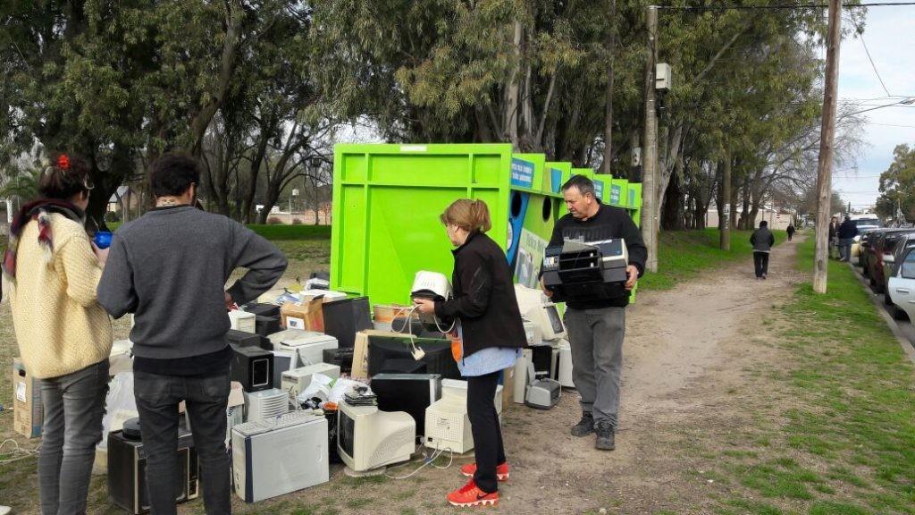 Basura electrónica: nueva campaña en el Parque Avellaneda