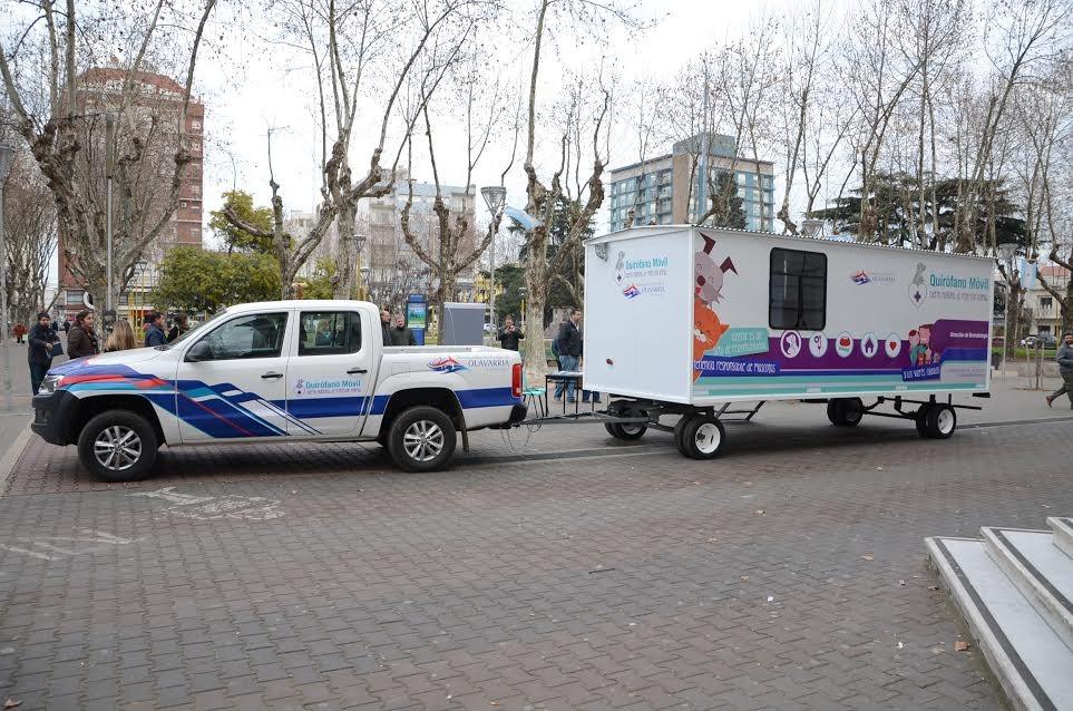 El Quirófano veterinario móvil continúa de gira en Olavarría y las localidades
