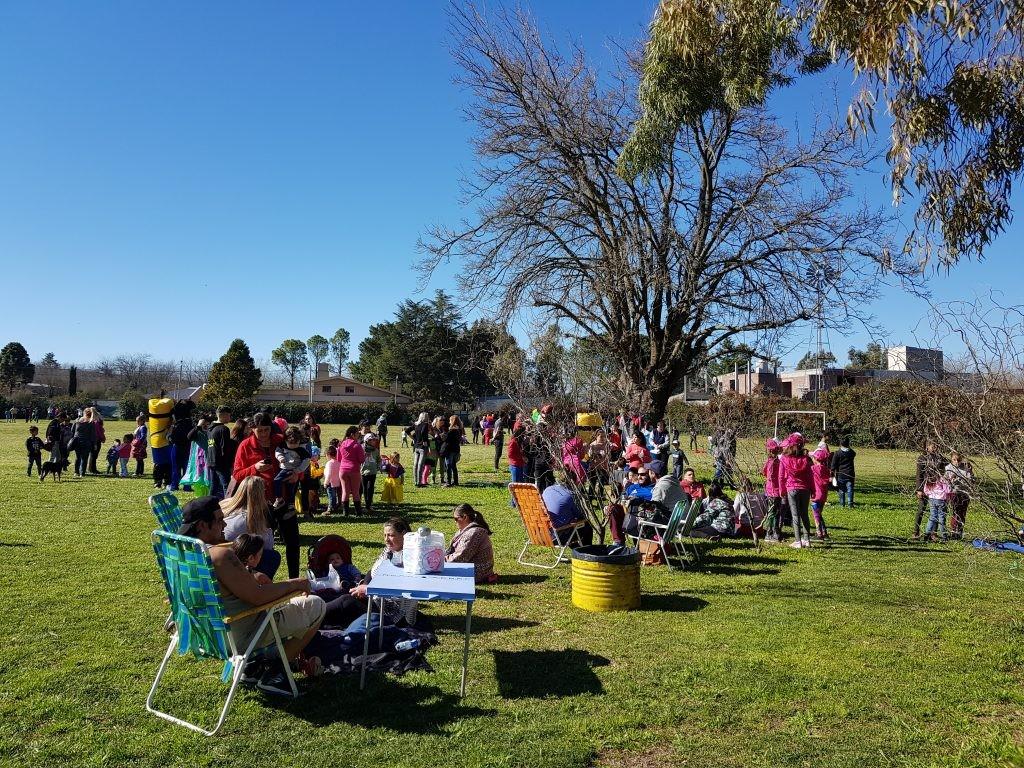 Comienzan los festejos por el Día del Niño en barrios y localidades