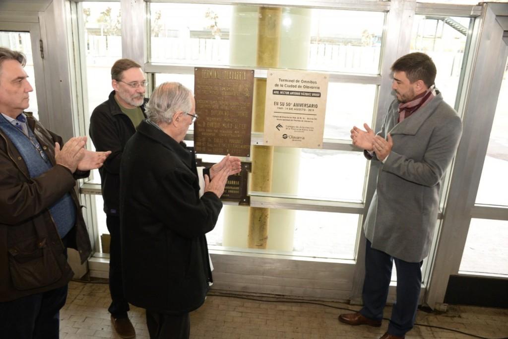 Impusieron el nombre 'Arquitecto Héctor Antonio Vázquez Brust' a la Terminal
