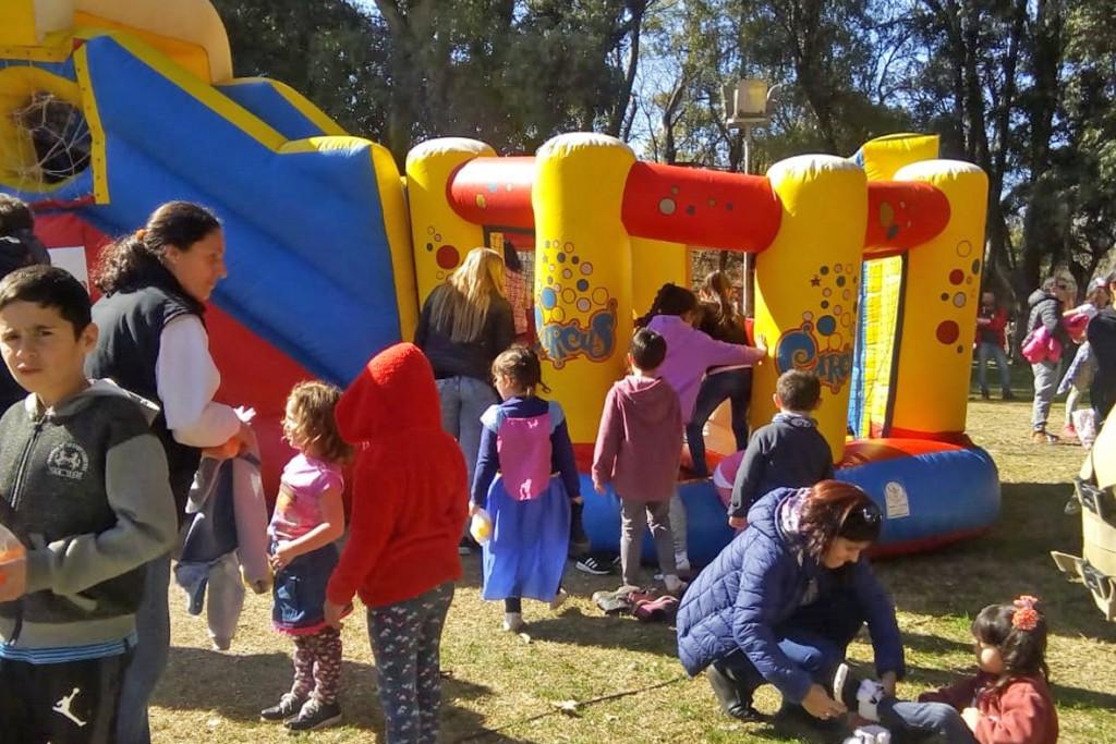 La niñez se celebra a pleno en Olavarría y las localidades