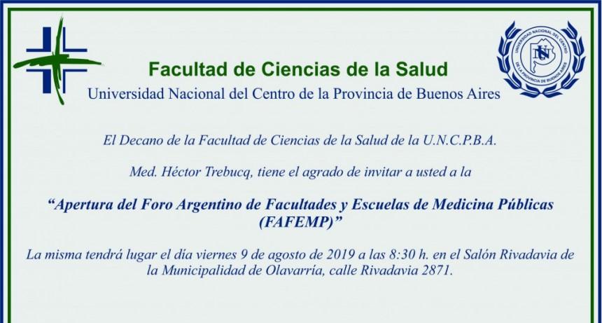 Facultades y Escuelas de Salud se reúnen en Olavarría