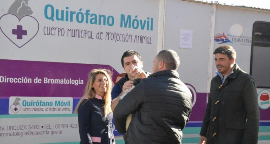 El Quirófano Veterinario Móvil está en Sierra Chica
