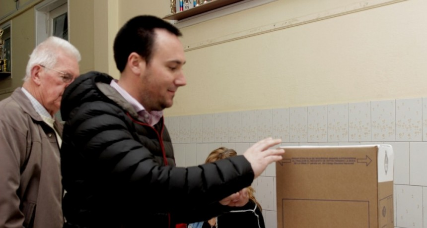 "Einar Iguerategui: ""Venimos a votar con mucha esperanza"""
